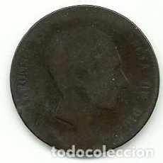 Monedas de España: ALFONSO XII - 10 CENTIMOS 1878. Lote 79091233