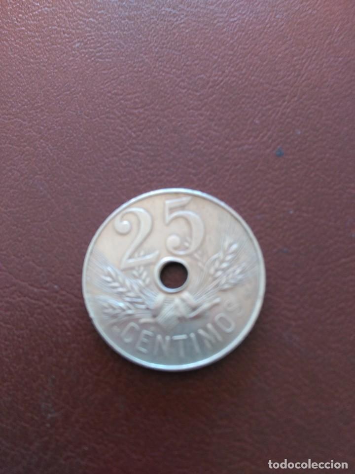 Monedas de España: MONEDA 25 CENTIMOS. AÑO 1927 - Foto 2 - 79486389