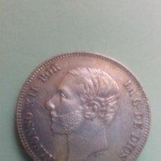 Monedas de España: ALFONSO XII 2 PESETAS 1881 MADRID M.S.M. EBC.. Lote 79618157