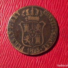 Monedas de España: MONEDA DE 3 QUAR BARCELONA 1823. Lote 79818151