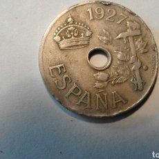 Monedas de España: MONEDA 25 CÉNTIMOS 1927. Lote 79922137