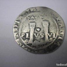 Monedas de España: 1 REAL DE PLATA DE MÉXICO. REYES JUANA Y CARLOS, SIN FECHA. Lote 79973097