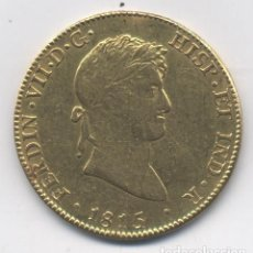 Monedas de España: FERNANDO VII- 8 ESCUDOS-1815-MEXICO. Lote 80772934