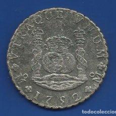 Monedas de España: FERNANDO VI 8 REALES PLATA 1752 MEXICO MF COLUMNARIO. Lote 81049968