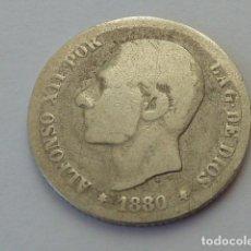 Monedas de España: MONEDA DE PLATA DE 50 CENTIMOS ALFONSO XII DE 1880 MS M. Lote 81693320