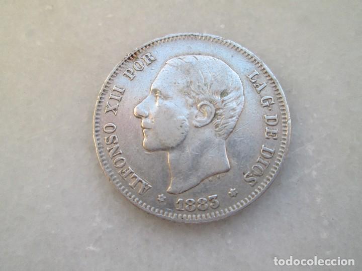 ALFONSO XII * 2 PESETAS 1883 MS M * PLATA * (Numismática - España Modernas y Contemporáneas - De Isabel II (1.834) a Alfonso XIII (1.931))