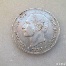 Monedas de España: ALFONSO XII * 2 PESETAS 1883 MS M * PLATA *. Lote 81704500