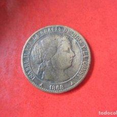 Monedas de España: ISABEL II. 1 CENTIMO DE ESCUDO 1868. SEGOVIA. #MN. Lote 82316688