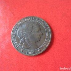 Monedas de España: ISABEL II. 1 CENTIMO DE ESCUDO 1868. BARCELONA. #MN. Lote 82317104