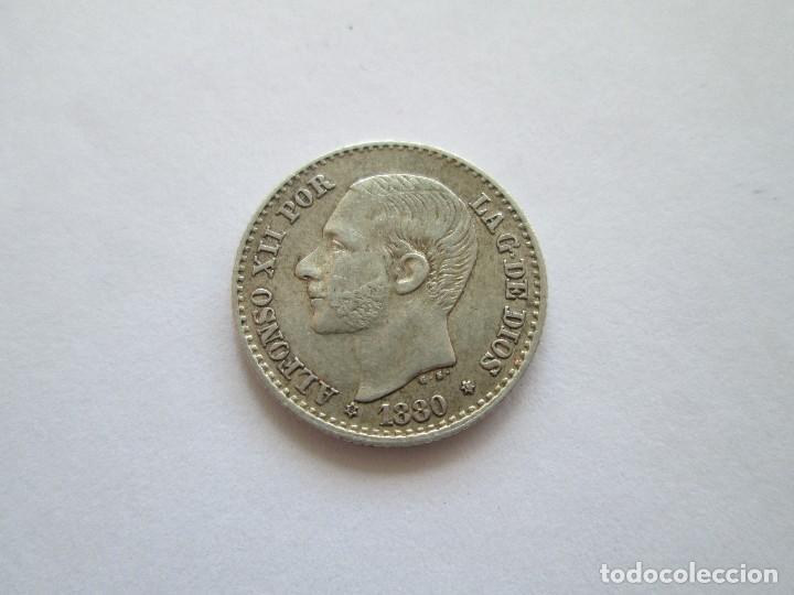 ALFONSO XII * 50 CENTIMOS 1880 * 8*0* MS M * PLATA (Numismática - España Modernas y Contemporáneas - De Isabel II (1.834) a Alfonso XIII (1.931))