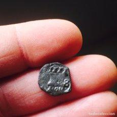 Monedas de España: FELIPE IV 4 MARAVEDIES 1661 SEVILLA A MARTILLO RARA. Lote 83014767