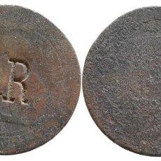 Monedas de España: 10 CENTIMOS 1870 CON RESELLO. Lote 83038756