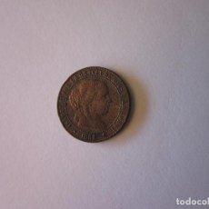 Monedas de España: 2 CÉNTIMOS Y MEDIO DE ESCUDO. ISABEL II. JUBIA. 1868.. Lote 83497664
