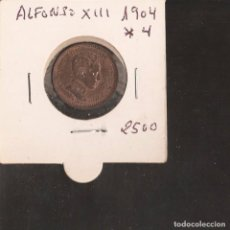 Monedas de España: MONEDA DE 2 CENTIMOS DE 1904/ 04. PATINA ORIGINAL LA DE LA FOTOS VER TODOS MIS LOTES DE MONEDAS. Lote 83909476