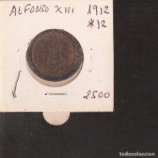 Monedas de España: PRECIOSA MONEDA 2 CENTIMOS DE COBRE DE 1912/12 LA DE LA FOTOS VER TODOS MIS LOTES DE MONEDAS. Lote 83910172