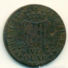 Monedas de España: VI CUARTOS DE 1814 DEL PRINCIPADO DE CATALUÑA. Lote 84182684