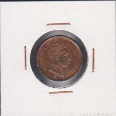 Monedas de España: MONEDAS - ALFONSO XIII - 2 CÉNTIMOS 1904-04 - VARIANTE ( 0 ) PARTIDO. Lote 84382300