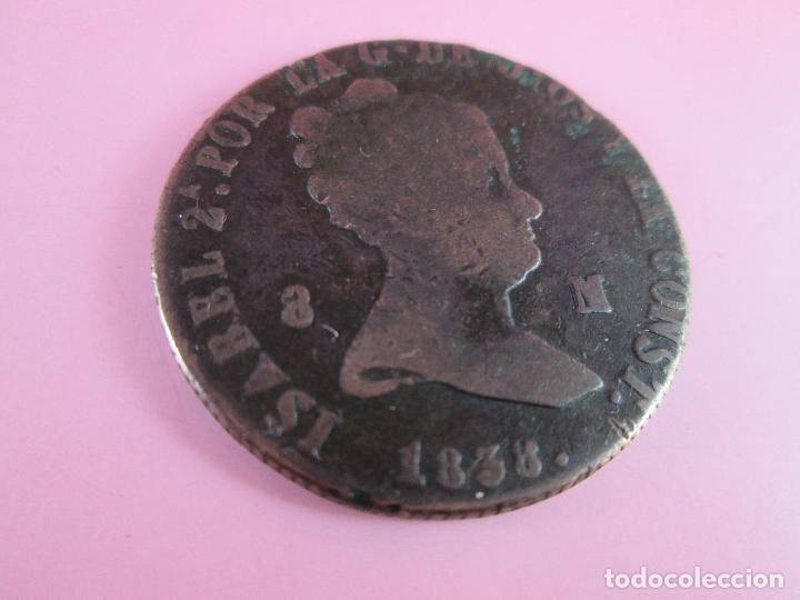 *MONEDA DE ESPAÑA-8 MARAVEDÍES-ISABEL II-1849-COBRE-VER FOTOS. (Numismática - España Modernas y Contemporáneas - De Isabel II (1.834) a Alfonso XIII (1.931))