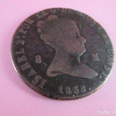 Monedas de España: *MONEDA DE ESPAÑA-8 MARAVEDÍES-ISABEL II-1849-COBRE-VER FOTOS.. Lote 36958134
