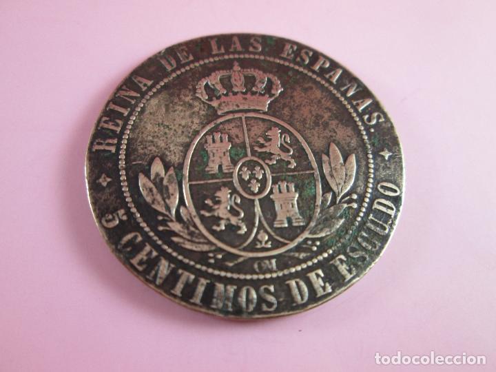 Monedas de España: MONEDA-ESPAÑA-2 1/2 CéNTIMOS ESCUDO-1868-ISABEL II-COBRE-ver fotos. - Foto 3 - 37016986