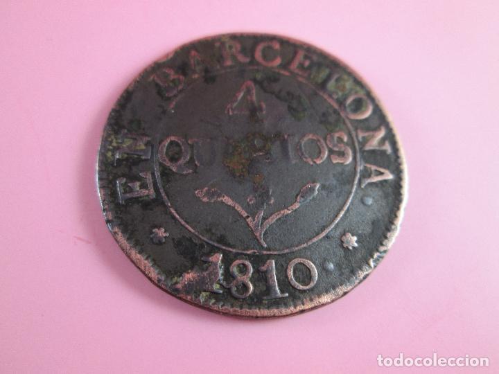 MONEDA DE ESPAÑA-4 QUARTOS-BARCELONA-1810-29 MM.D-. (Numismática - España Modernas y Contemporáneas - De Reyes Católicos (1.474) a Fernando VII (1.833))