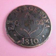 Monedas de España: MONEDA DE ESPAÑA-4 QUARTOS-BARCELONA-1810-29 MM.D-.. Lote 37041004