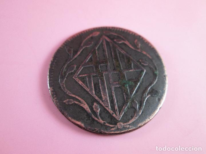 Monedas de España: MONEDA DE ESPAÑA-4 QUARTOS-BARCELONA-1810-29 mm.D-. - Foto 3 - 37041004