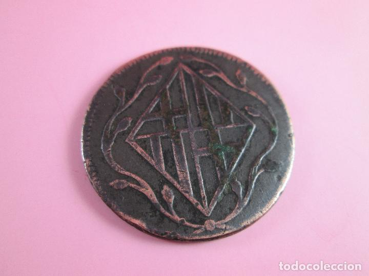 Monedas de España: MONEDA DE ESPAÑA-4 QUARTOS-BARCELONA-1810-29 mm.D-. - Foto 5 - 37041004