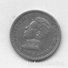 Monedas de España: ALFONSO XIII- 50 CENTIMOS-1904*1-0-PCV. Lote 84886252