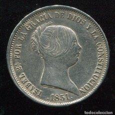 Monedas de España: ISABEL II - 20 REALES DE PLARA 1851 - MADRID - ESCASA. Lote 86006652