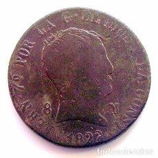 Monedas de España: MONEDAS DEL MUNDO . ESPAÑA . FERNANDO VII . 8 MARAVEDIS 1822 JUBIA. Lote 86399428