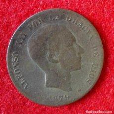 Monedas de España: MONEDA DE ( 10 ) DIEZ CENTIMOS DEL 1879. Lote 86708152