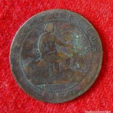 Monedas de España: MONEDA DE ( 5 ) CINCO CENTIMOS DEL 1870. Lote 86708808