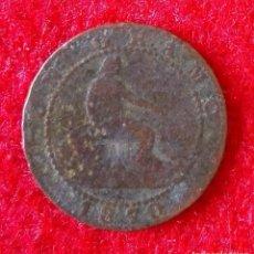 Monedas de España: MONEDA DE ( 1 ) UN CENTIMO DEL 1870. Lote 86709540