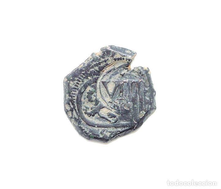 FELIPE IV - 8 MARAVEDIS 1641 MADRID. SOBRE MONEDA 8 MARAVEDIS BURGOS (Numismática - España Modernas y Contemporáneas - De Reyes Católicos (1.474) a Fernando VII (1.833))