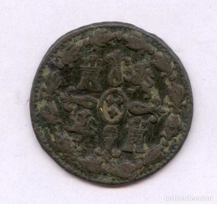 Monedas de España: ¡¡ MUY BARATA !! 4 MARAVEDIES CARLOS IIII. FECHA INCOMPLETA AÑO 180. - Foto 2 - 86989766