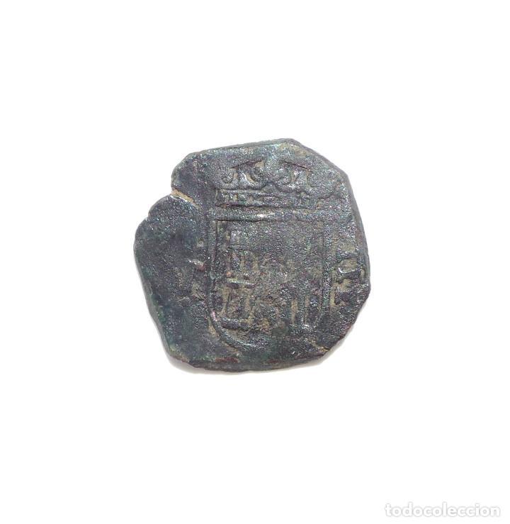 Monedas de España: Felipe III -8 Maravedis Toledo. - Foto 2 - 87163708