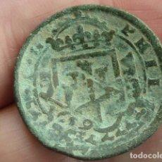 Monedas de España: MONEDA DE 8 MARAVEDIS DE FELIPE III, RESELLADOS A XII EN 1619. Lote 87225072