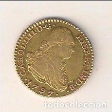 Monedas de España: MONEDA DE ESCUDO DE CARLOS IIII (IV) ACUÑADA EN MADRID EN 1797 ENSAYADOR MF. ORO. MBC. (0230).. Lote 87242568
