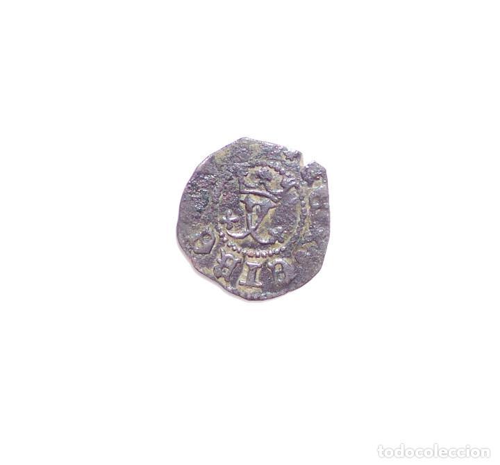 Monedas de España: REYES CATÓLICOS, BLANCA 1469/1504 CECA DE CUENCA CRUZ PATIARCAL IZQUIERDA C DERECHA - Foto 2 - 87252580