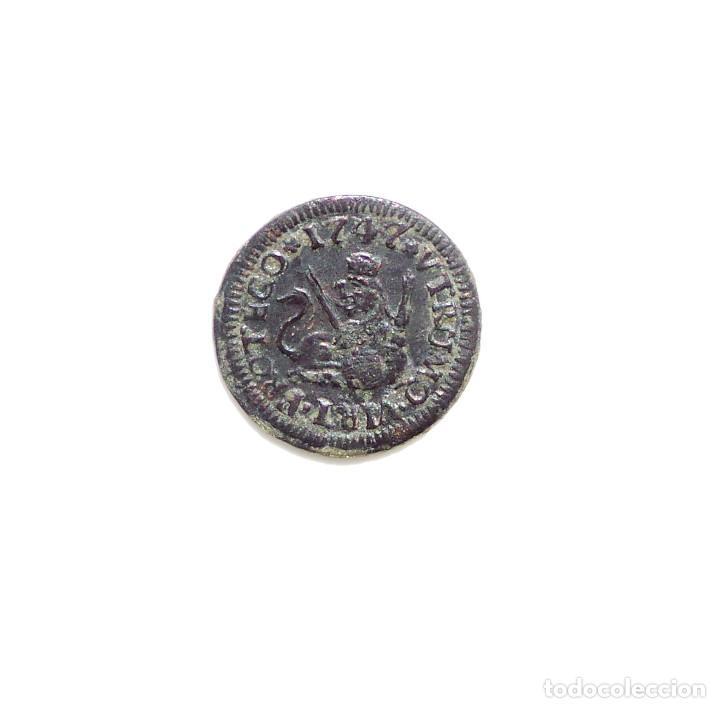 FERNANDO VI - 1 MARAVEDÍ 1747 SEGOVIA. (Numismática - España Modernas y Contemporáneas - De Reyes Católicos (1.474) a Fernando VII (1.833))