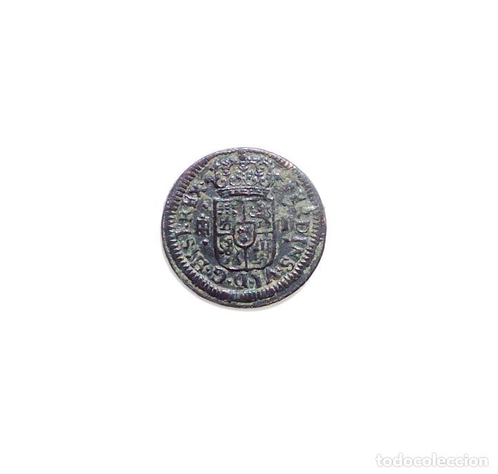 Monedas de España: FERNANDO VI - 1 Maravedí 1747 Segovia. - Foto 2 - 87344796