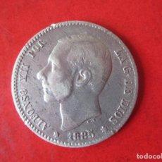 Monedas de España: 1 PESETA DE PLATA DE ALFONSO XII. 1885. MSM. Lote 87367628