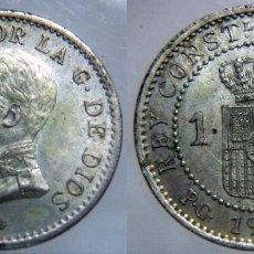 Monedas de España: ALFONSO XIII 1 CENTIMO 1912 PCV PLATEADA. Lote 92313898