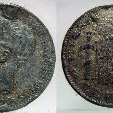Monedas de España: 1 PESETA ALFONSO XIII 1899 FALSA DE EPOCA. Lote 88886484