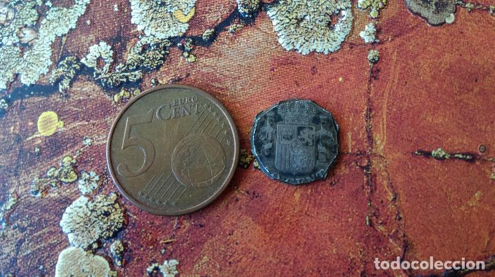 ANTIGUA MONEDA DE PLATA ALFONSO (Numismática - España Modernas y Contemporáneas - De Isabel II (1.834) a Alfonso XIII (1.931))