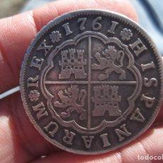 Monedas de España - 4 REALES CARLOS III 1761, CECA SEVILLA - 88992728