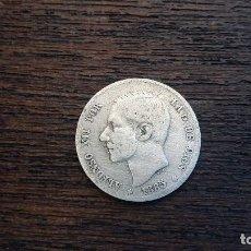 Monedas de España: MONEDA PLATA 1 PESETA ALFONSO XII 1885. Lote 89850964