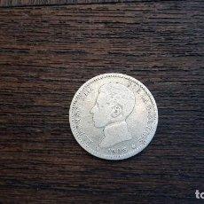Monedas de España: MONEDA PLATA 1 PESETA ALFONSO XIII 1905.. Lote 89851736