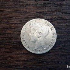 Monedas de España: MONEDA PLATA 1 PESETA ALFONSO XIII 1901. Lote 89852280